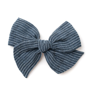 Oversized Pinwheel // Graphite Blue