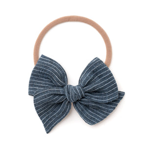 Medium Pinwheel // Graphite Blue
