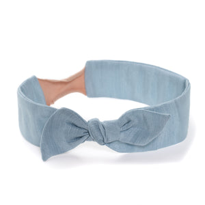Thick Retro Knot // Dove Blue