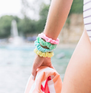 Waterproof Scrunchie // Water Slide