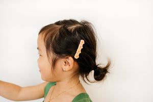Flower Clip // Peach