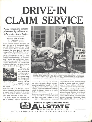 All State Insurance Page LIFE March 21 1960