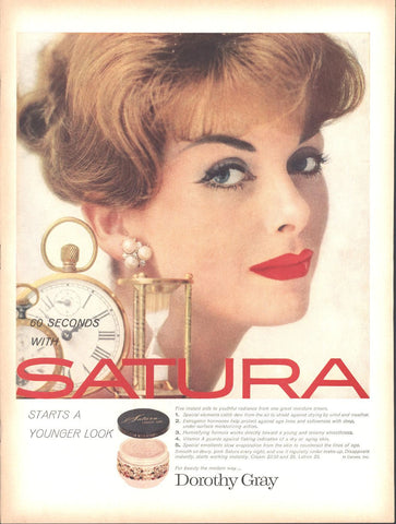 Satura Face Cream LIFE October 13 1958