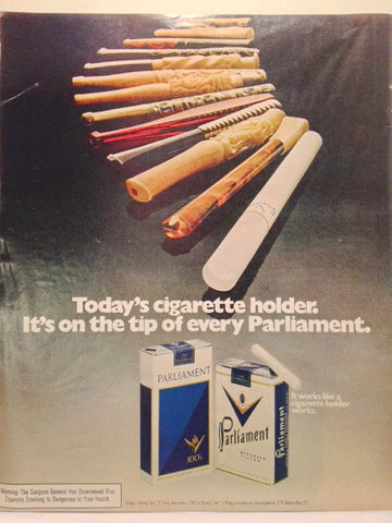 Parliament Cigarettes Page LIFE July 14 1972