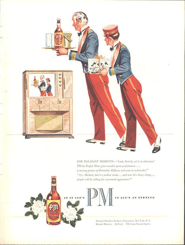 PM Blended Whiskey Page LIFE March 22 1948