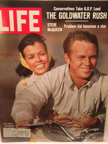 Cover Steve McQueen LIFE July 12 1963