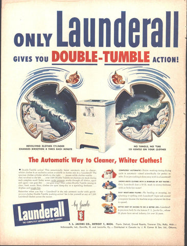 Launderall Clothes Washer Page LIFE March 22 1948