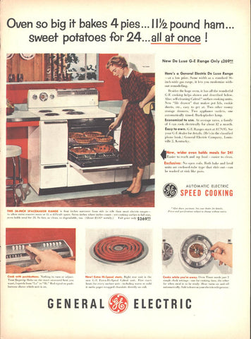 General Electric GE Oven Page LIFE October 12 1953