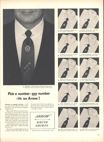 Arrow Shirts Page LIFE October 12 1953