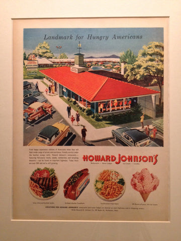 Howard Johnson Restaurant LIFE July 2 1956