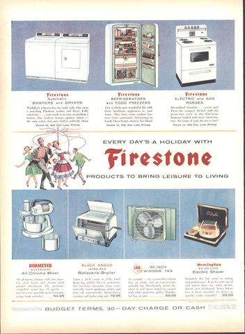 Firestone Appliances Page LIFE May 16 1955