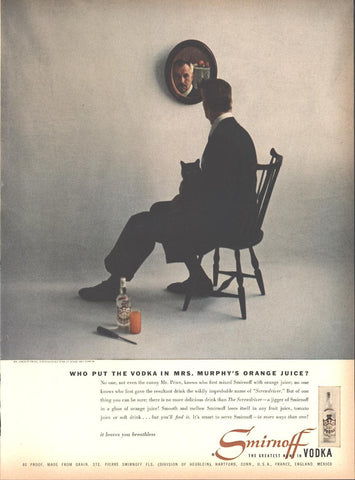Smirnoff Vodka Vincent Price Page LIFE May 16 1955