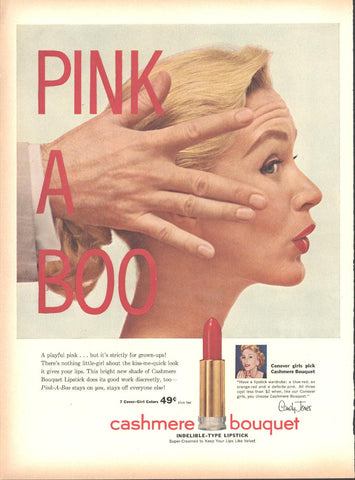 Cashmere Bouquet Lipstick Page LIFE May 16 1955