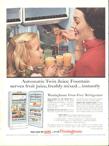 Westinghouse Refrigerator Page LIFE May 16 1955