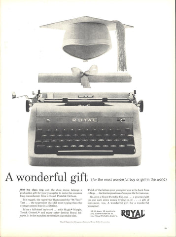 Royal Typewriter Page LIFE May 16 1955
