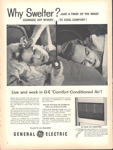 General Electric Air Conditioner Page LIFE May 16 1955