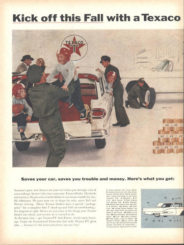 Texaco Dealers LIFE October 20 1958
