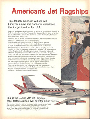 American Airlines 707 LIFE October 20 1958