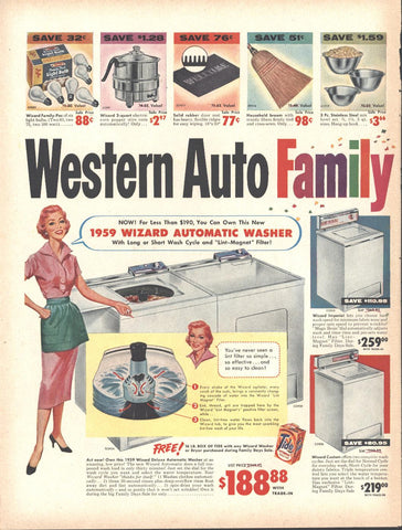 Western Auto Family Days Sale LIFE October 20 1958
