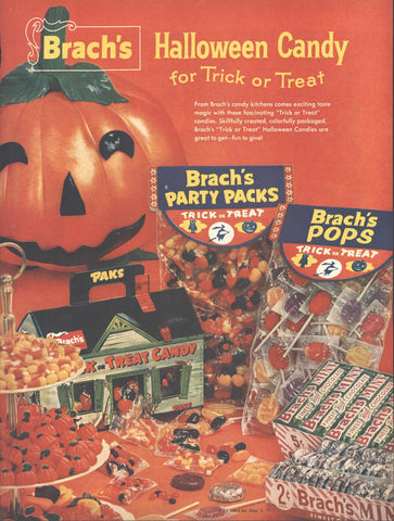 Brach's Halloween Candy Page LIFE October 20 1958