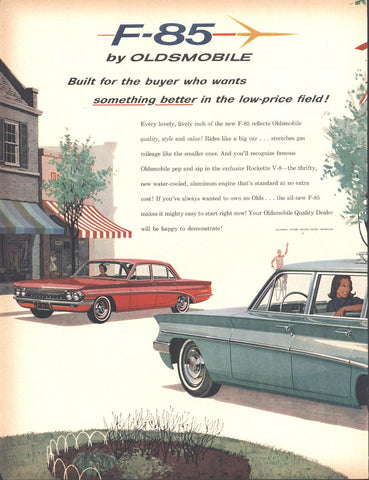 61 Oldsmobile F-85 Sedan Wagon LIFE December 5 1960