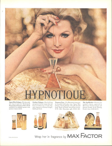 Max Factor Perfume Page LIFE December 5 1960