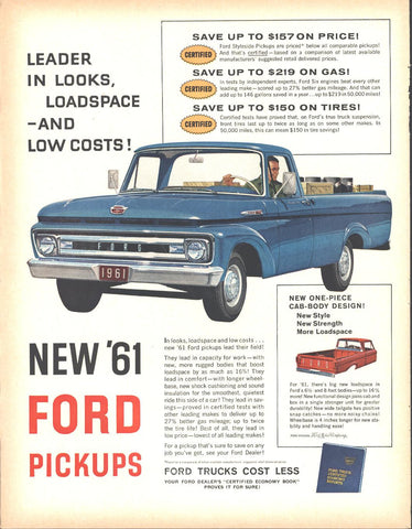 61 Ford Pickup Page LIFE December 5 1960