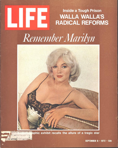 Cover Marilyn Monroe Framed LIFE September 8 1972