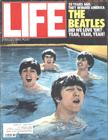 Cover Beatles Framed LIFE February 1984