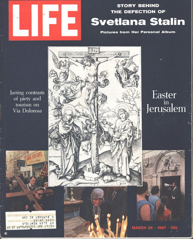 Cover Easter in Jerusalem LIFE March 24 1967