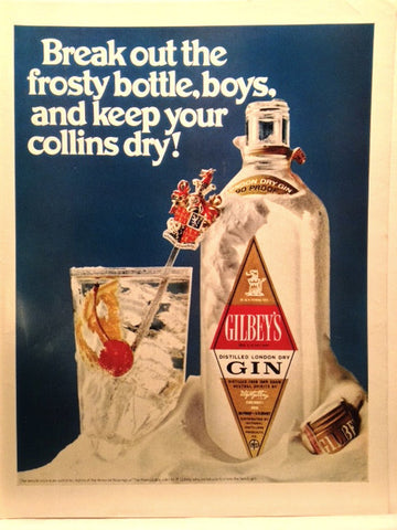 Gilbeys Gin LIFE June 28 1968