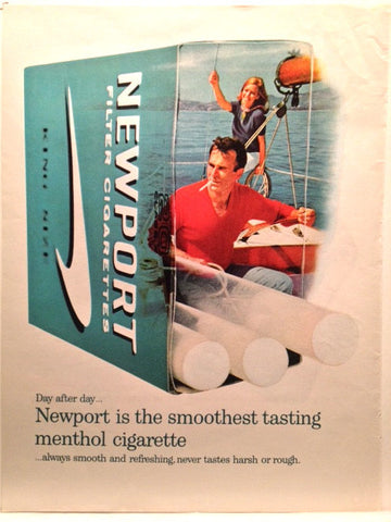 Newport Cigarettes LIFE June 16 1967
