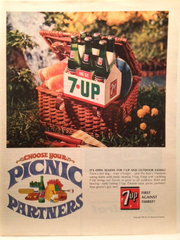 7-Up Page LIFE July 7 1966