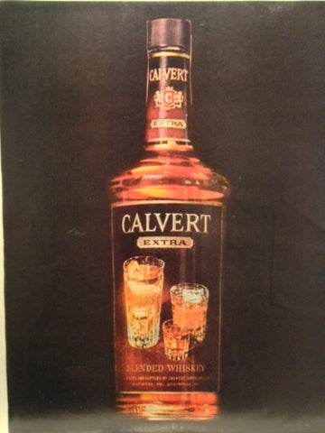 Calvert Whiskey LIFE May 17 1963