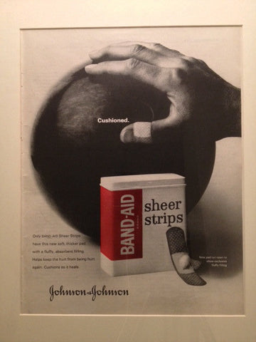 Johnson and Johnson Band-Aid LIFE June 26 1964