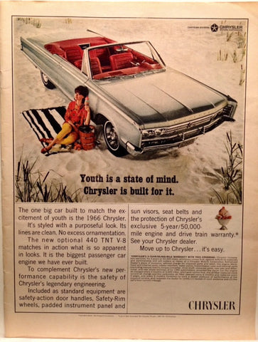 Chrysler Newport 1966 LIFE July 17 1966