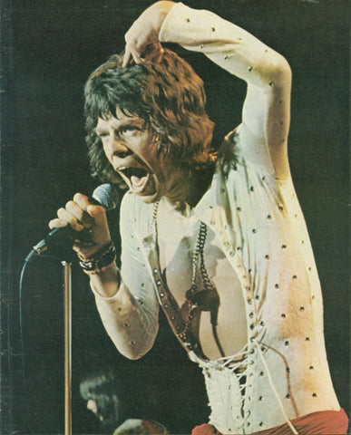 Mick Jagger Page LIFE July 14 1972