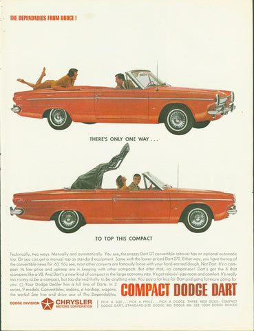 Dodge Dart 1963 Page LIFE January 18 1963