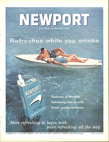 Newport Cigarettes LIFE July 12 1963