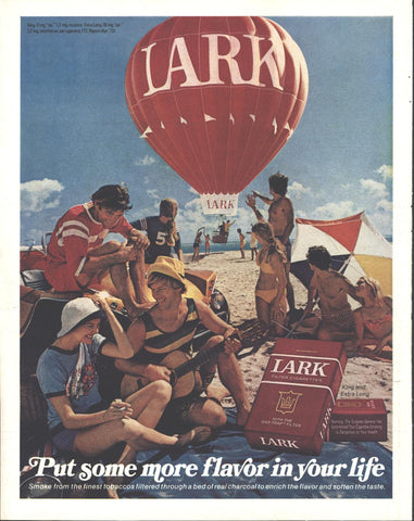 Lark Cigarettes LIFE July 14 1972