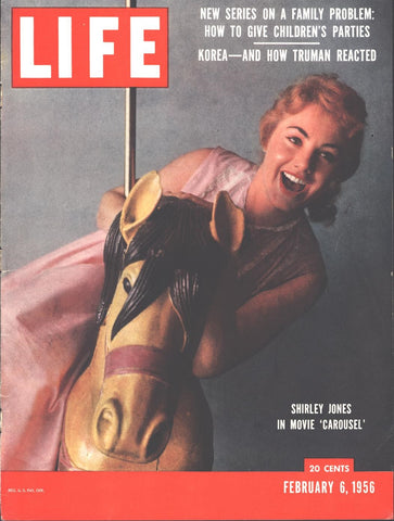 Cover Shirley Jones Page LIFE February 6 1956