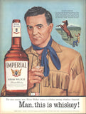 Imperial Whiskey Page LIFE February 6 1956