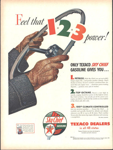 Texaco Sky Chief Page LIFE February 6 1956