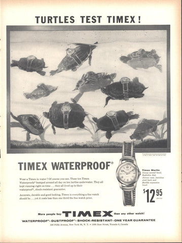 Timex Watches Page LIFE February 6 1956