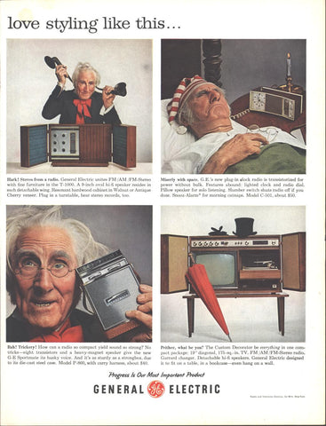 GE Home Entertainment Christmas LIFE November 23 1962