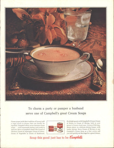 Campbells Cream Soups Page LIFE December 20 1963