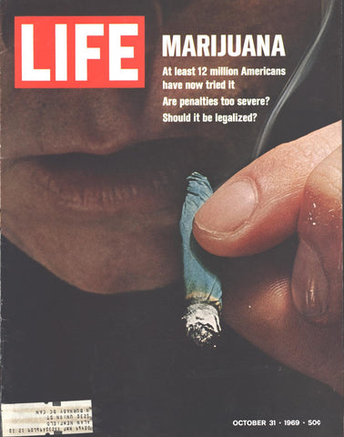 Cover Marijuana LIFE Page October 31 1969