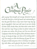 NY Life Insurance Prayer Christmas Page LIFE December 2 1967