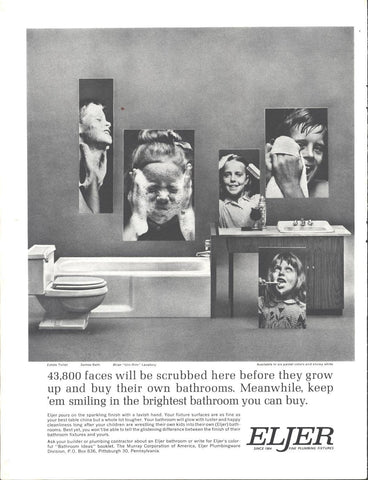 Eljer Bathroom Fixtures LIFE November 30 1962