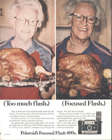 Polaroid Focus Flash 400 Page LIFE November 19 1971